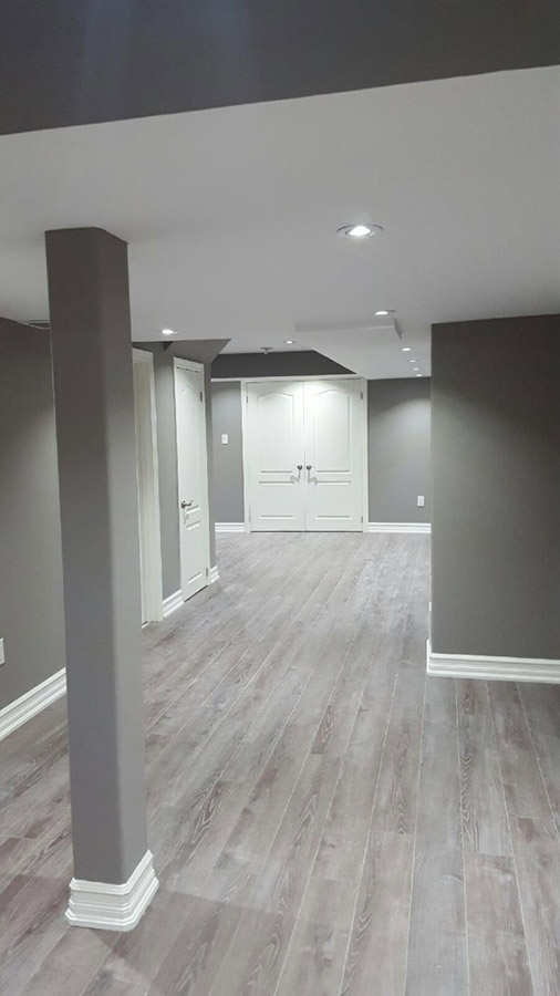 Another Basement Renovation Project Completed - Orange ...