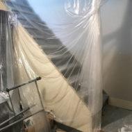 basement renovation project started 2017-07-10