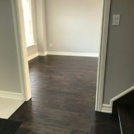 dark hard wood flooring photo 25