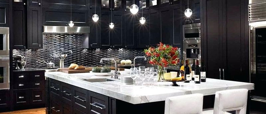 is a dark color scheme suitable for your kitchen