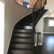 railings and stair refinishing photo 16