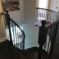 railings and stair refinishing photo 17