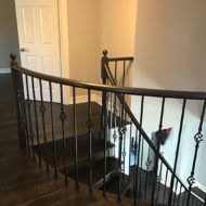 railings and stair refinishing photo 18