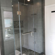 stand shower bathroom renovation