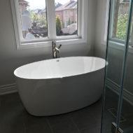 bathroom hot tub
