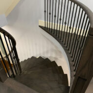 Full House Renovation In North York Stairs