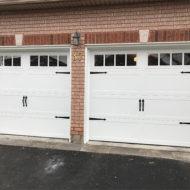 garage door installation photo